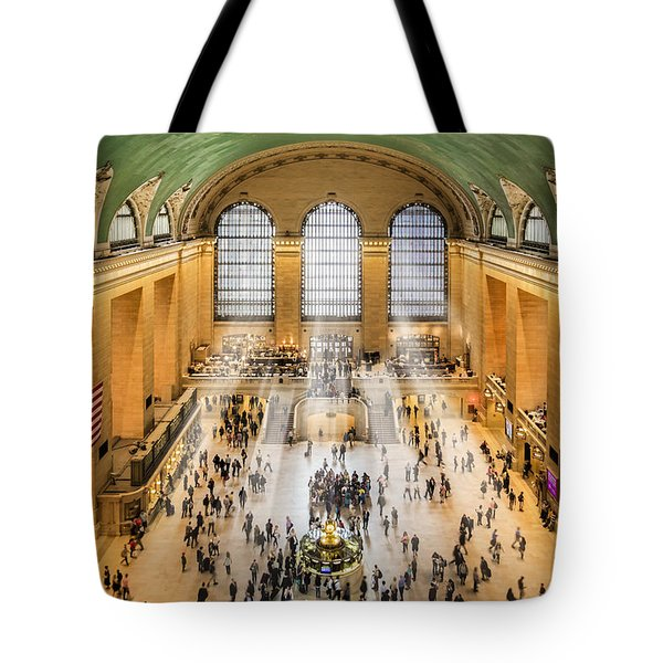 Grand Central Terminal Birds Eye View I Tote Bag