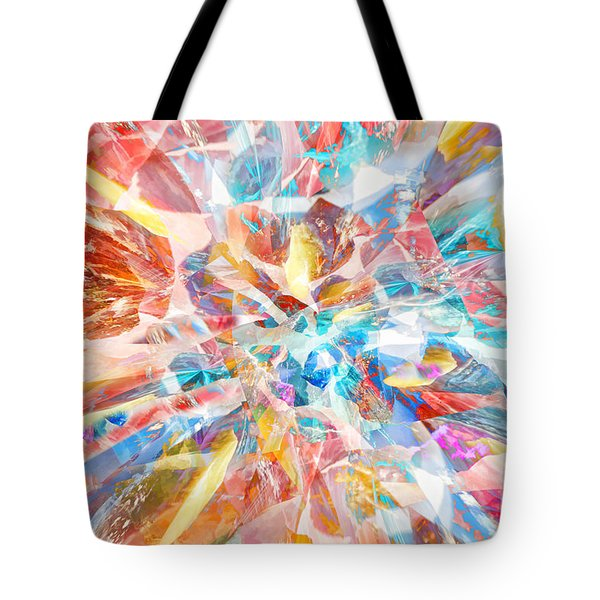 Tote Bag featuring the digital art Grand Entrance by Margie Chapman
