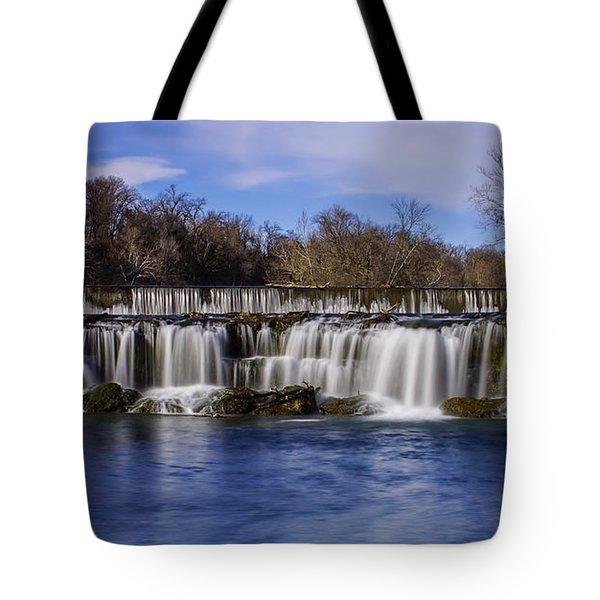 Grand Falls In Joplin Missouri Tote Bag