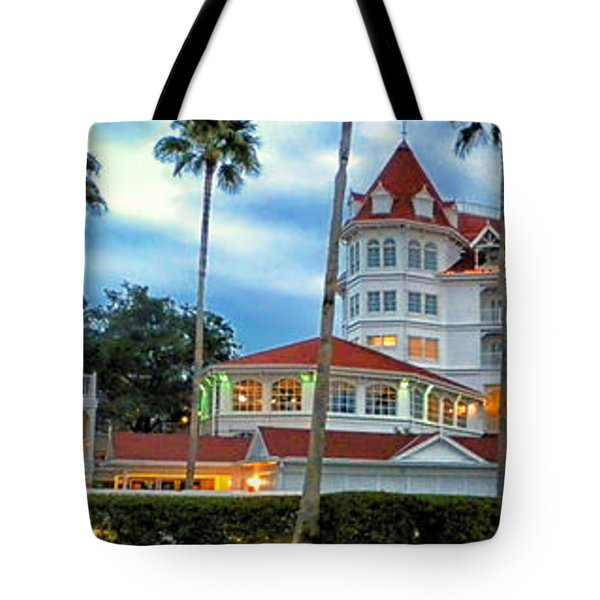 Grand Floridian Resort Walt Disney World Tote Bag