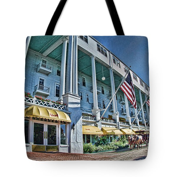 Grand Hotel - Image 001 Tote Bag