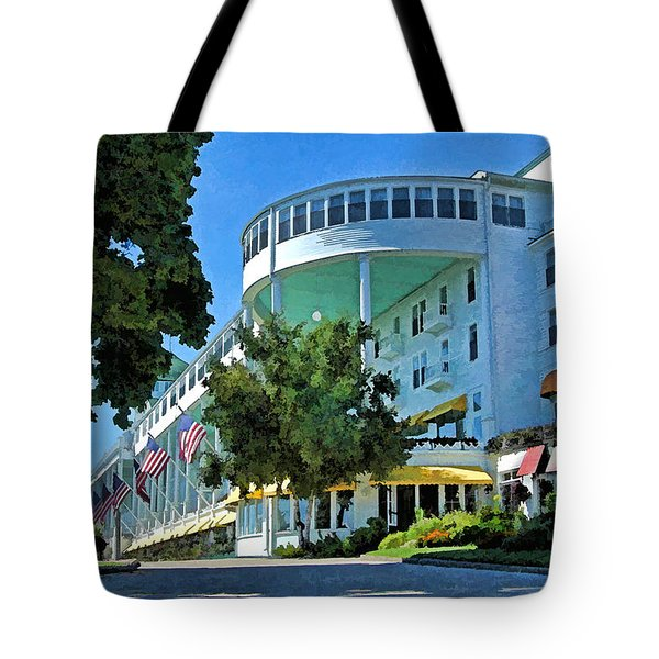 Grand Hotel - Image 003 Tote Bag