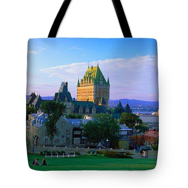 Grand Hotel In A City, Chateau Tote Bag