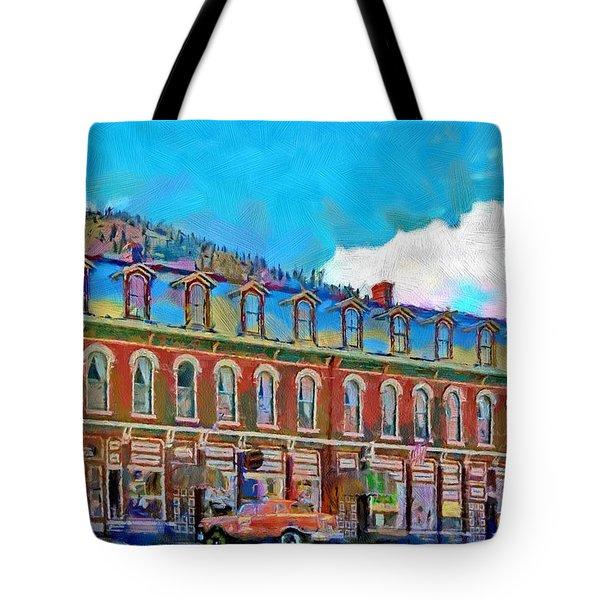 Grand Imperial Hotel Tote Bag by Jeff Kolker