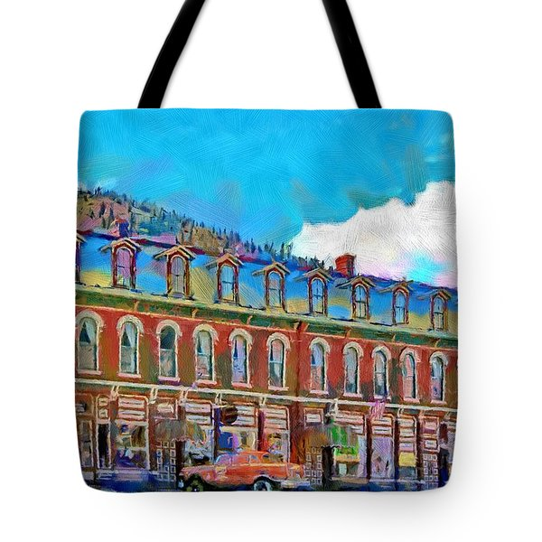 Grand Imperial Hotel Tote Bag