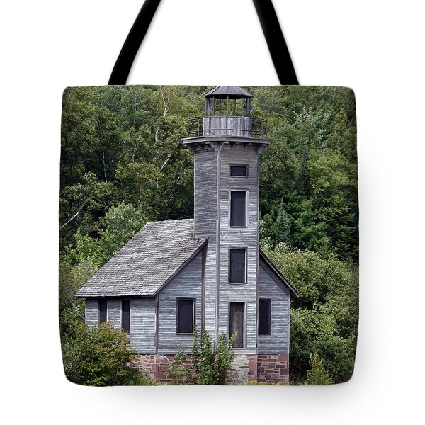 Grand Island East Channel Lighthouse Tote Bag