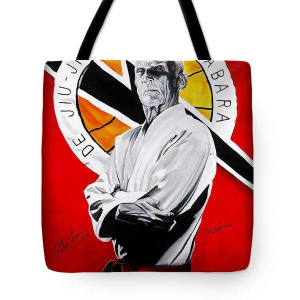 Grand Master Helio Gracie Tote Bag