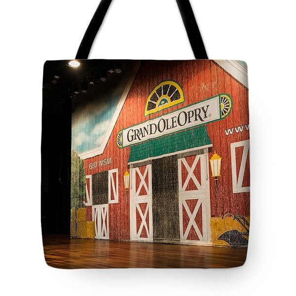 Ryman Grand Ole Opry Tote Bag