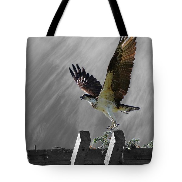 Grand Ole Osprey Tote Bag by Davandra Cribbie