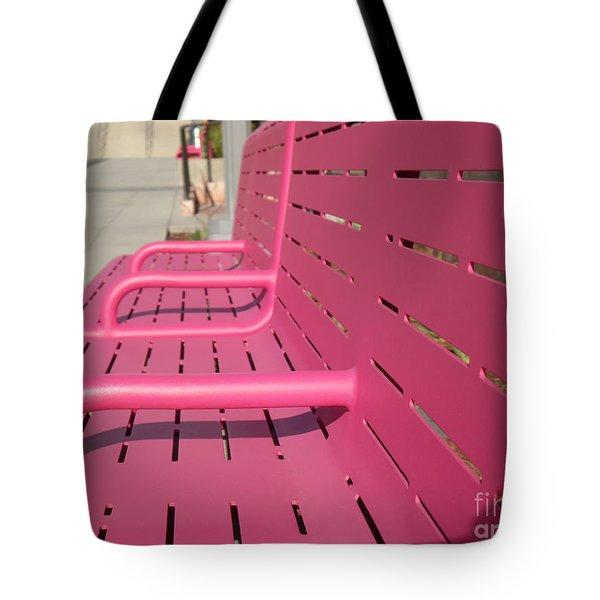 Grand Park Pink Tote Bag
