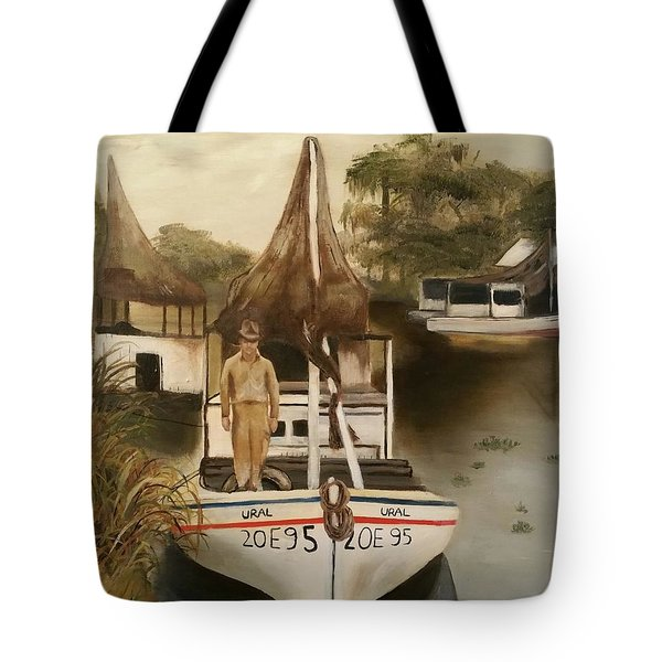 Grand Paw Domangue Tote Bag