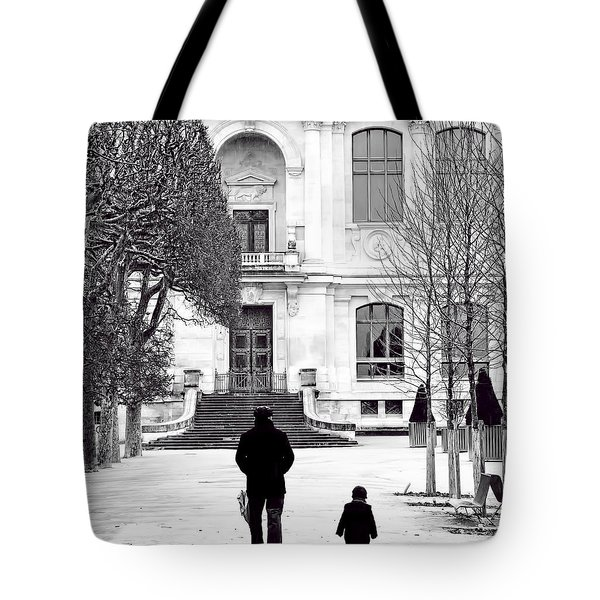 Grand Pere Tote Bag by Evie Carrier