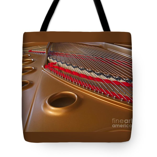 Grand Piano Tote Bag