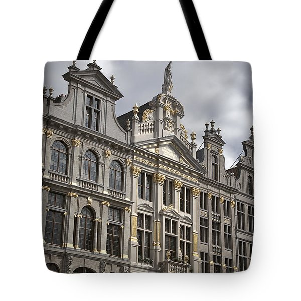 Grand Place Detail Tote Bag