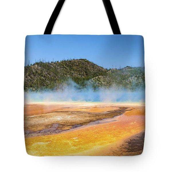 Grand Prismatic Spring - Yellowstone National Park Tote Bag by Brian Harig