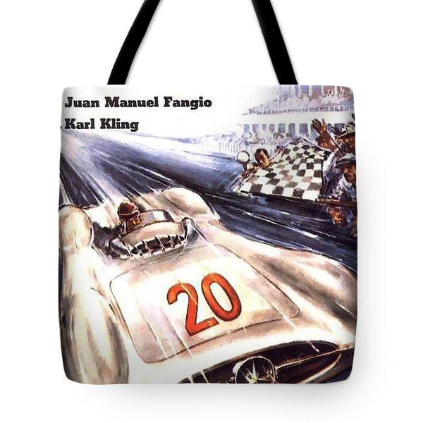 Grand Prix F1 Reims France 1954  Tote Bag