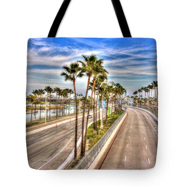 Grand Prix Of Long Beach Tote Bag by Heidi Smith