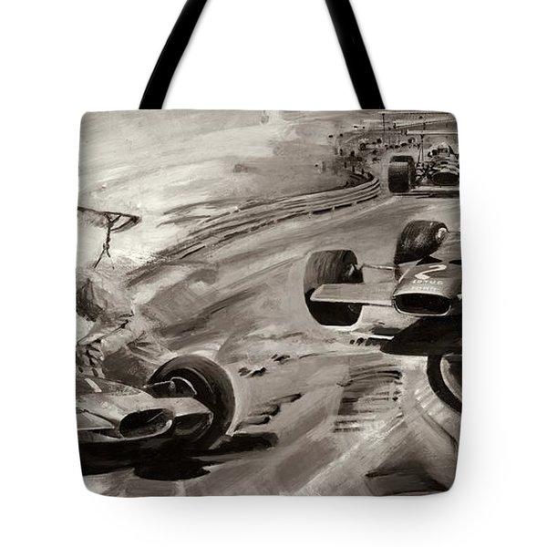 Grand Prix Problems Tote Bag