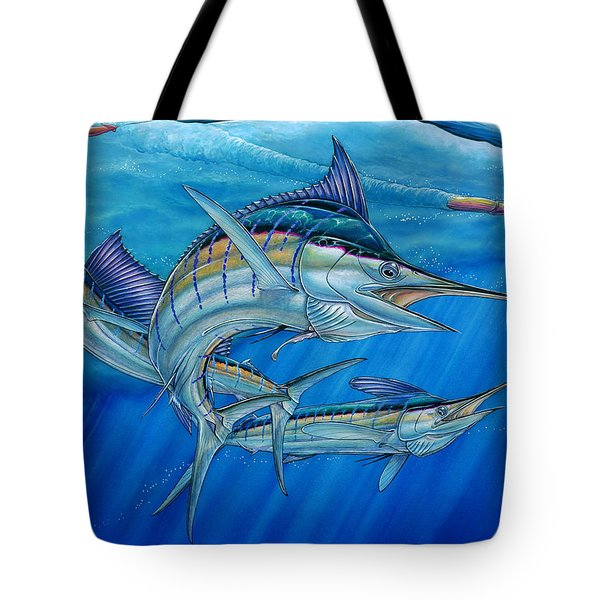 Grand Slam And Lure. Tote Bag by Terry Fox