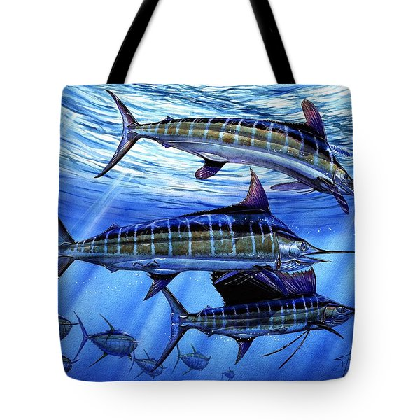 Grand Slam Lure And Tuna Tote Bag