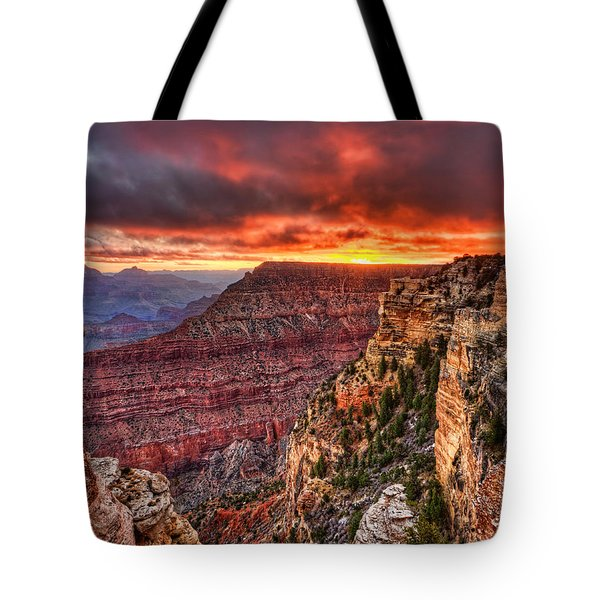 Grand Sunrise Tote Bag