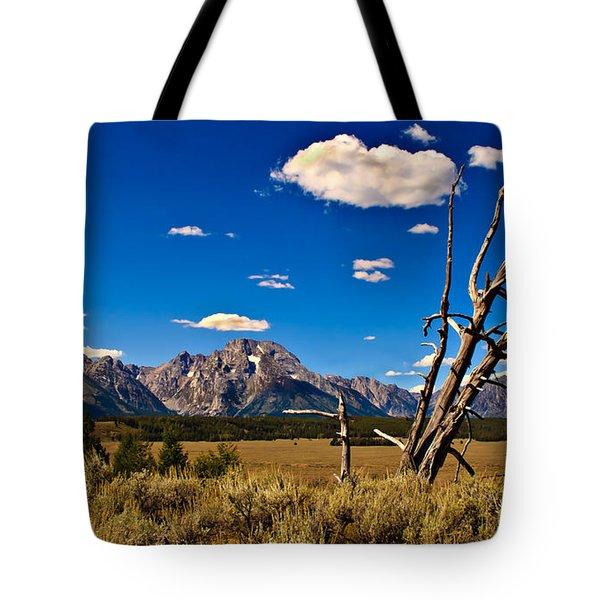 Grand Tenton Overlook Tote Bag by Robert Bales