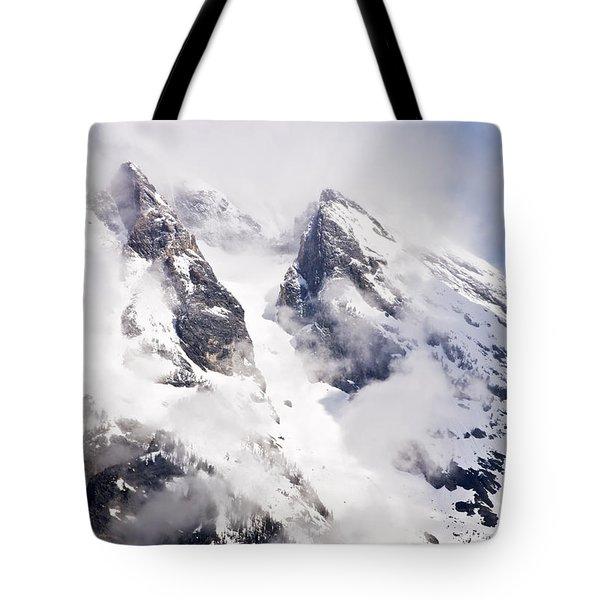 Grand Teton Glacier Tote Bag