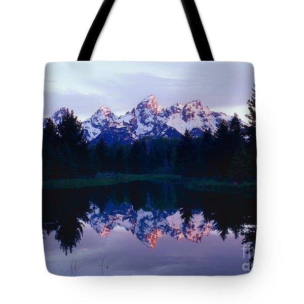 Grand Teton Reflex Tote Bag