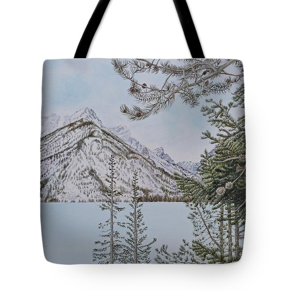 Grand Teton View Tote Bag