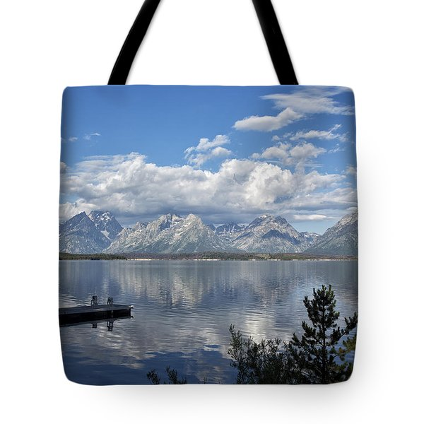Grand Tetons In The Morning Light Tote Bag