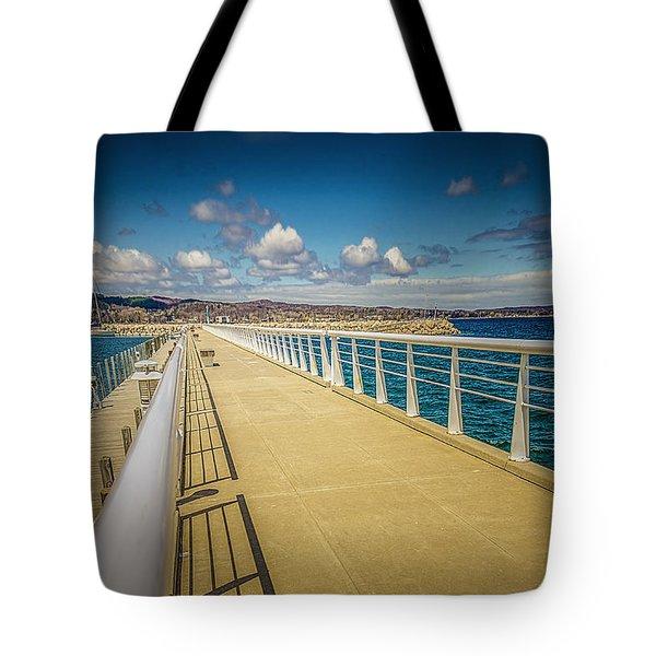 Grand Traverse Bay Tote Bag