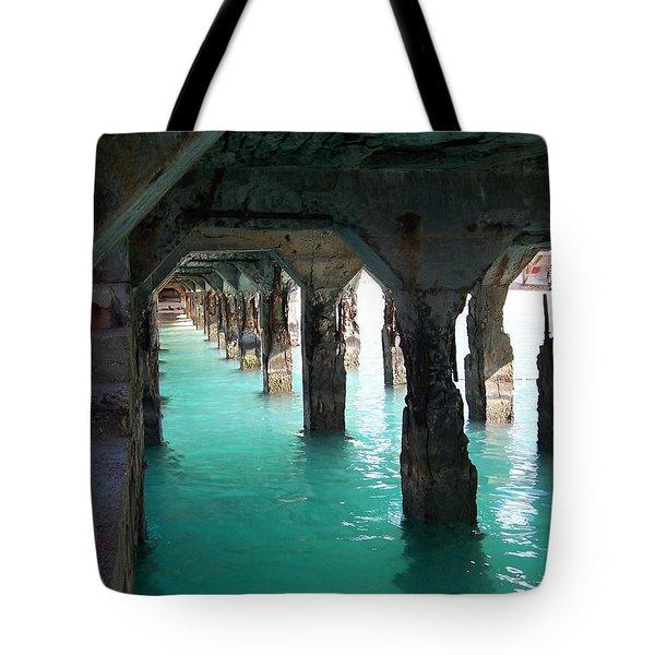 Grande Casse Pier Tote Bag