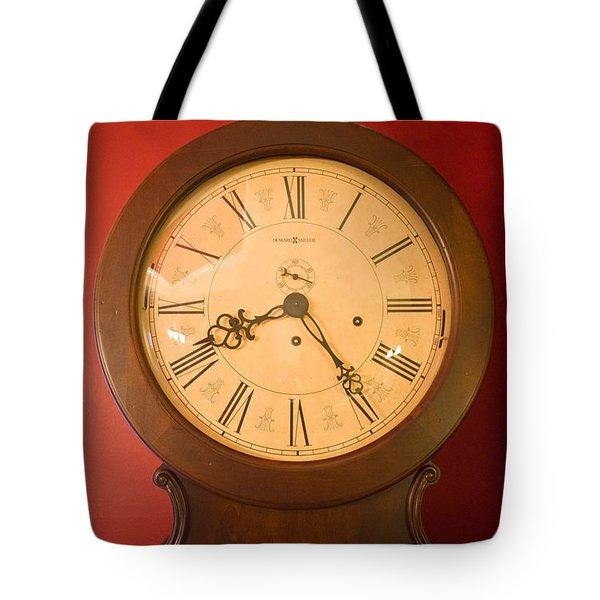 Grandfather Clock Top 1 Tote Bag by Douglas Barnett