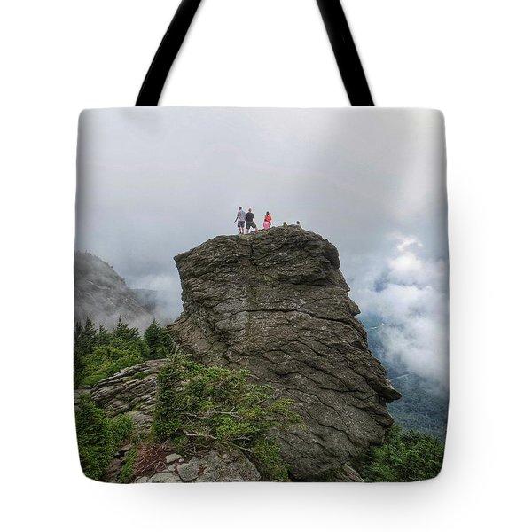 Grandfather Mountain Hikers Tote Bag