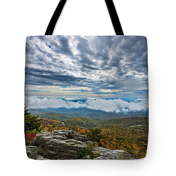 Grandfather Mountain Tote Bag by John Haldane