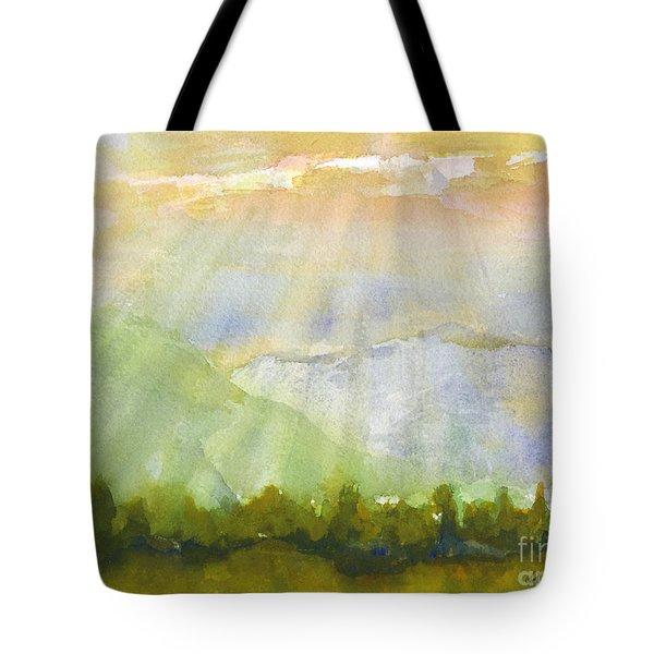 Grandma Cohen Rays Tote Bag by Walt Brodis