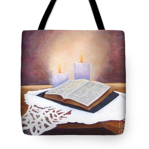 Grandma's Bible Tote Bag