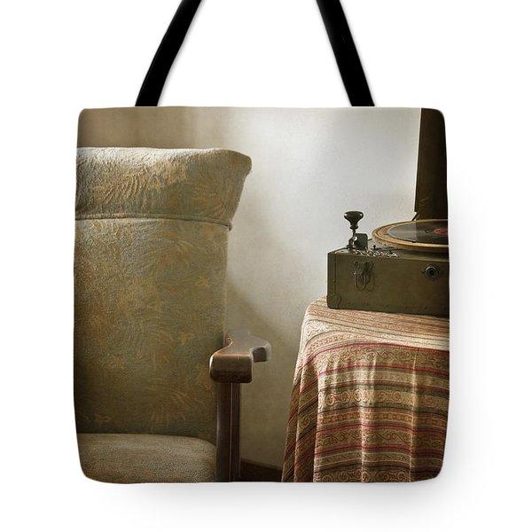Grandma's Chair Tote Bag by Margie Hurwich