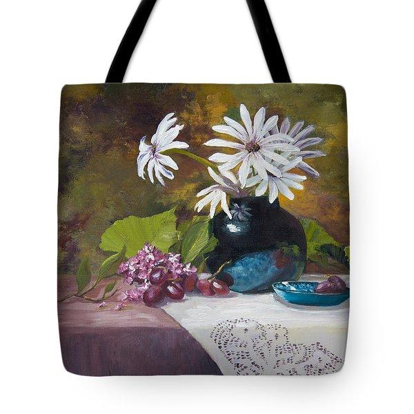 Grandma's Daisies Tote Bag