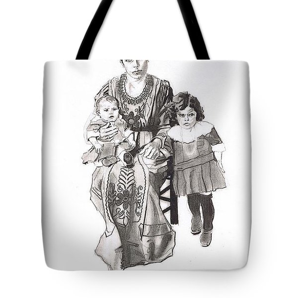 Grandma's Family Tote Bag