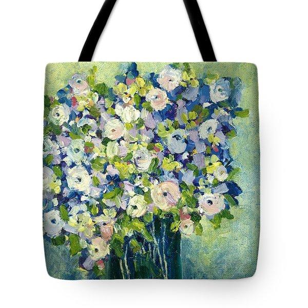 Grandma's Flowers Tote Bag by Sherry Harradence