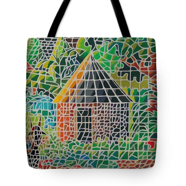 Grandma's House Tote Bag by Anthony Mwangi