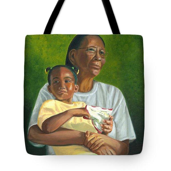 Grandma's Lap Tote Bag