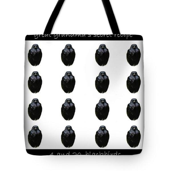 Grandmas Secret Recipe Tote Bag by Jennifer Muller