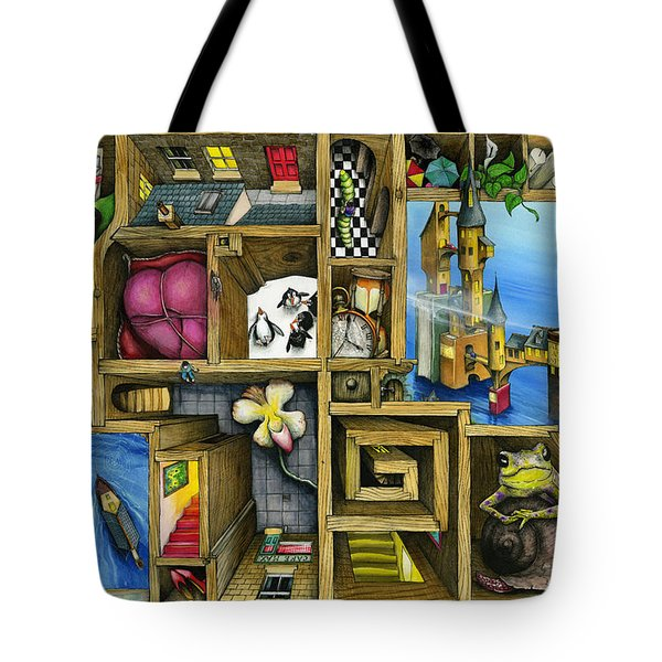 Grandma's Treasure Tote Bag by Colin Thompson