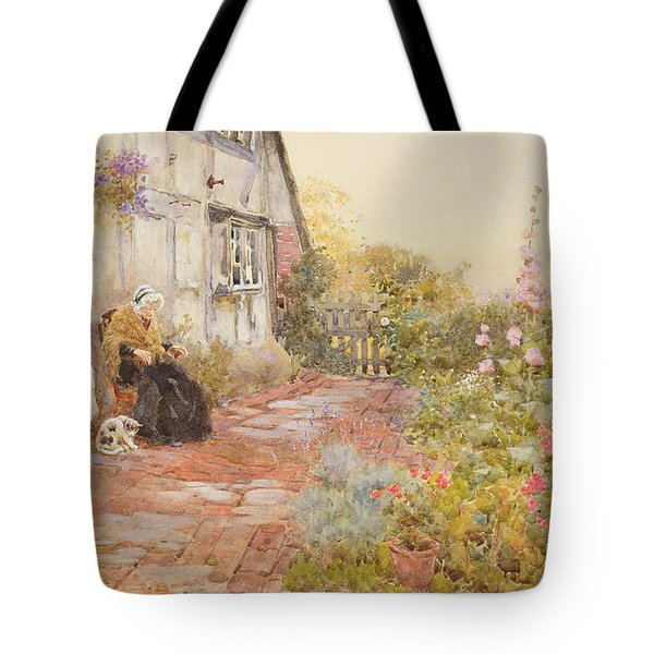Grandmother Tote Bag by Thomas James Lloyd
