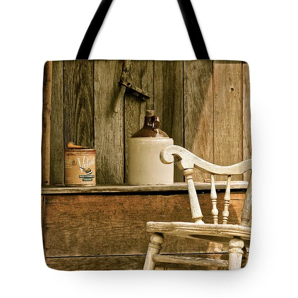 Grandpa's Front Porch Tote Bag