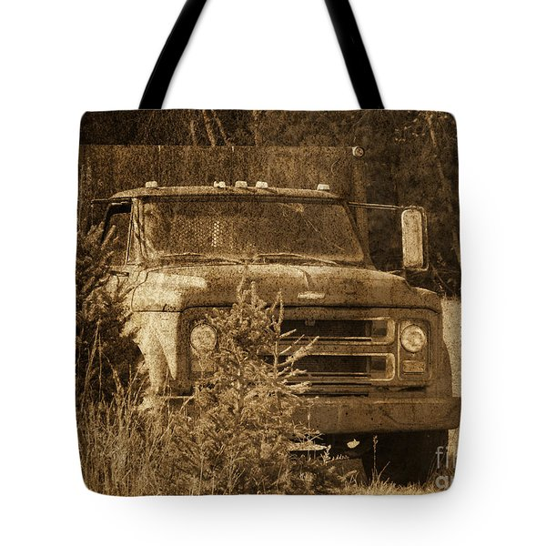 Grandpa's Old Truck Tote Bag