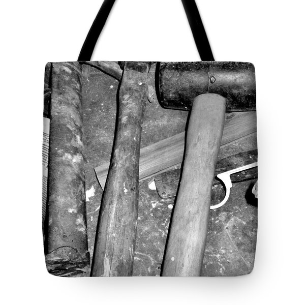 Grandpa's Tools Tote Bag