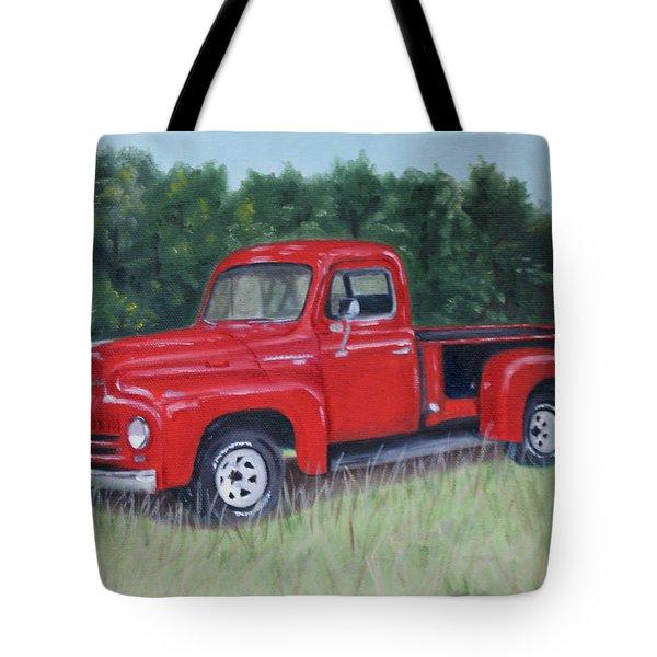 Grandpa's Truck Tote Bag